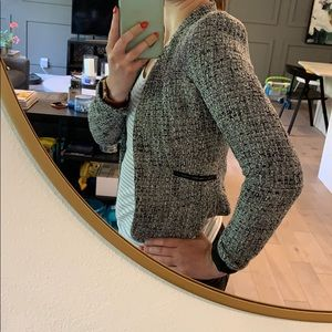 H & M Tweed Blazer Size 4